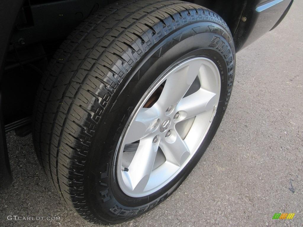2008 Ram 1500 SLT Quad Cab - Brilliant Black Crystal Pearl / Medium Slate Gray photo #44