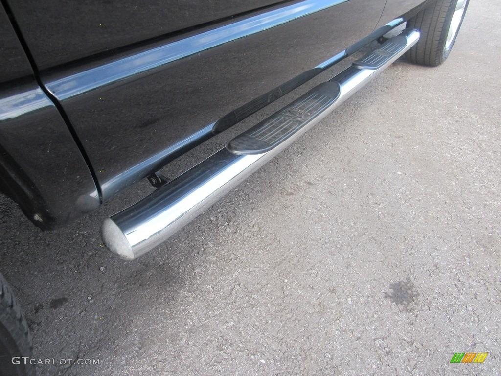 2008 Ram 1500 SLT Quad Cab - Brilliant Black Crystal Pearl / Medium Slate Gray photo #51
