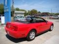 2007 Torch Red Ford Mustang V6 Deluxe Convertible  photo #5