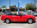 2007 Torch Red Ford Mustang V6 Deluxe Convertible  photo #6