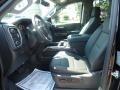 Jet Black Front Seat Photo for 2019 Chevrolet Silverado 1500 #129112083