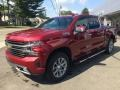 Front 3/4 View of 2019 Silverado 1500 High Country Crew Cab 4WD