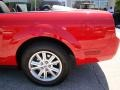 2007 Torch Red Ford Mustang V6 Deluxe Convertible  photo #20