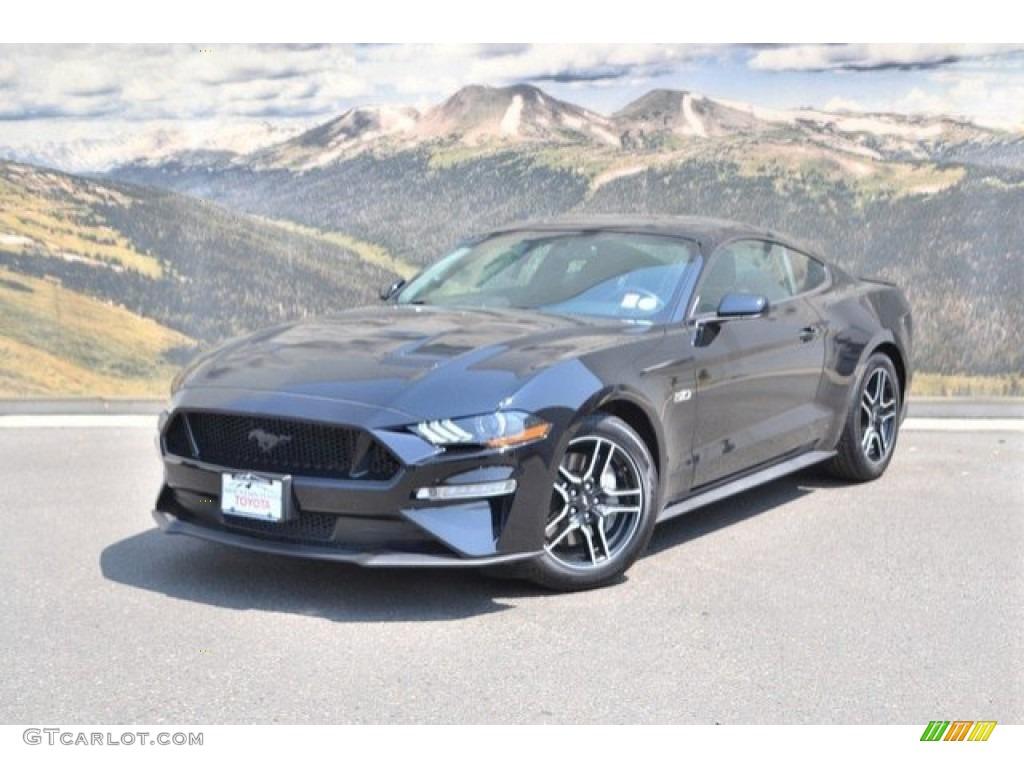 2018 Mustang GT Fastback - Shadow Black / Ebony photo #5