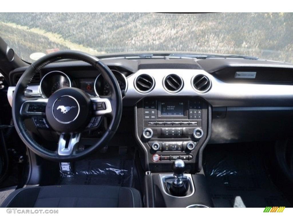 2018 Mustang GT Fastback - Shadow Black / Ebony photo #12