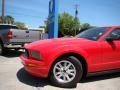2007 Torch Red Ford Mustang V6 Deluxe Coupe  photo #19