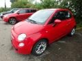 Rosso (Red) 2013 Fiat 500 Pop