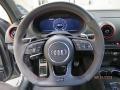 2018 RS 3 quattro Sedan Steering Wheel