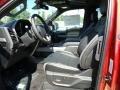 Front Seat of 2018 F150 SVT Raptor SuperCab 4x4