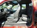 Rear Seat of 2018 F150 SVT Raptor SuperCab 4x4