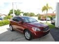 Flamenco Red Metallic 2016 Volvo XC60 T5 Drive-E