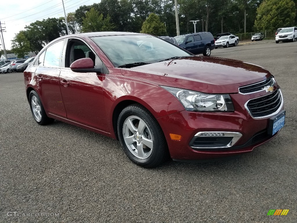 2016 Cruze Limited LT - Red Hot / Medium Titanium photo #1