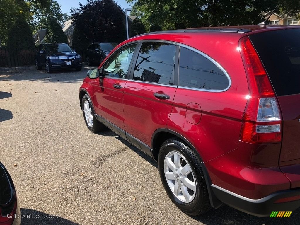 2009 CR-V EX 4WD - Tango Red Pearl / Gray photo #6