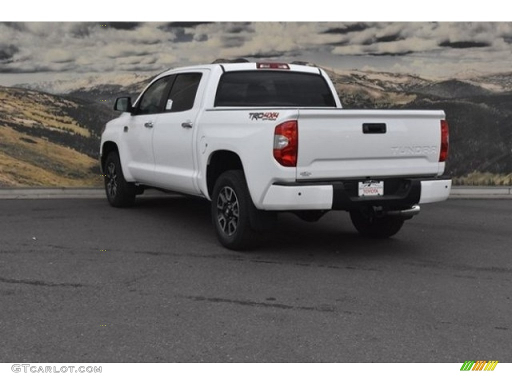 2019 Tundra 1794 Edition CrewMax 4x4 - Super White / 1794 Edition Premium Brown photo #3