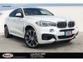 Mineral White Metallic 2019 BMW X6 xDrive50i