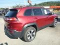 Deep Cherry Red Crystal Pearl - Cherokee Trailhawk 4x4 Photo No. 5