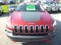 Deep Cherry Red Crystal Pearl - Cherokee Trailhawk 4x4 Photo No. 8