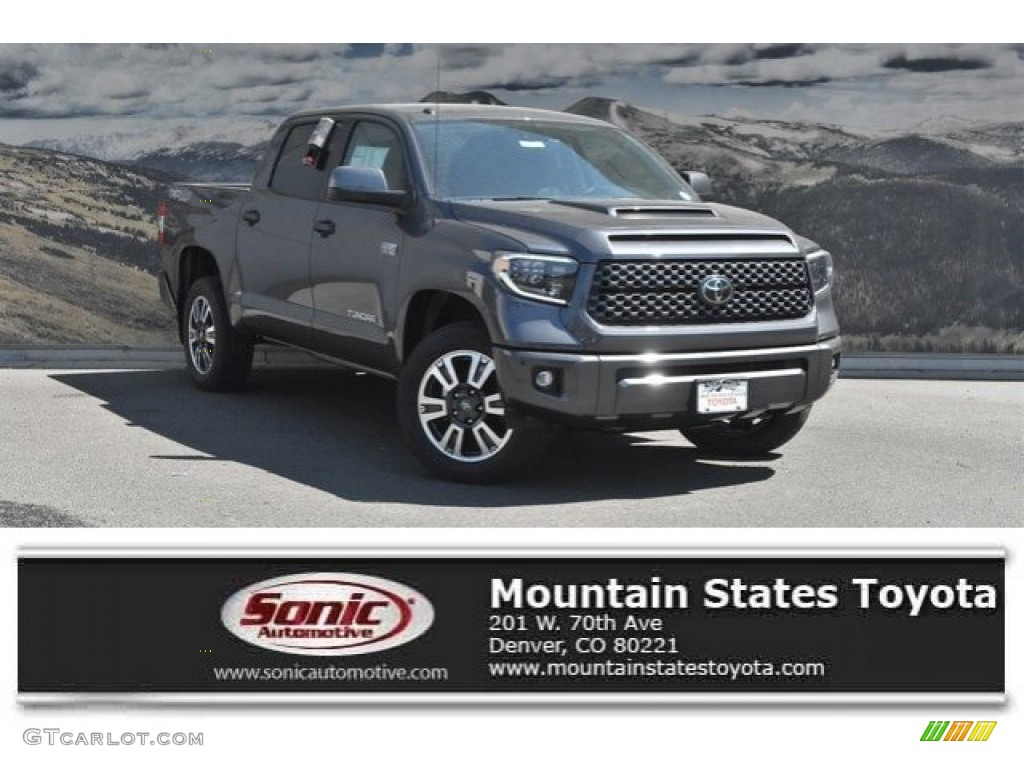 2019 Tundra SR5 CrewMax 4x4 - Magnetic Gray Metallic / Black photo #1