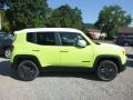 2018 Hypergreen Jeep Renegade Latitude 4x4  photo #7