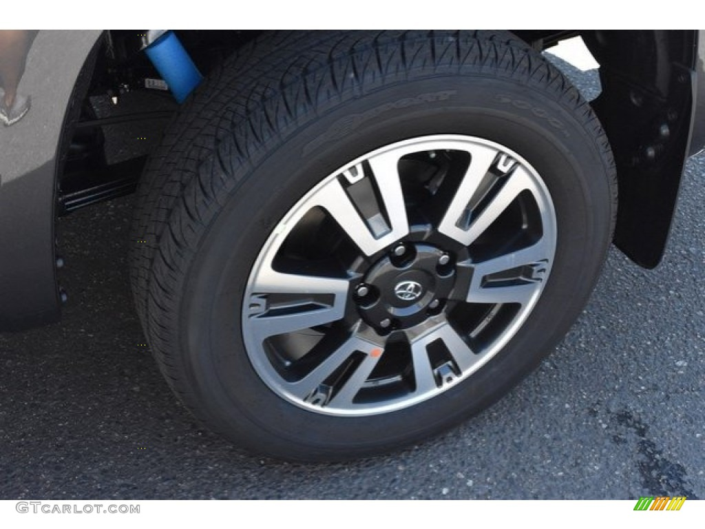 2019 Tundra SR5 CrewMax 4x4 - Magnetic Gray Metallic / Black photo #33