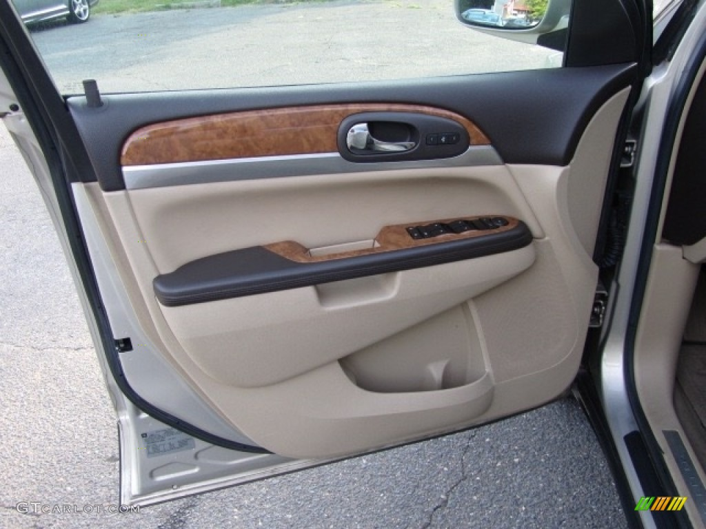 2010 Enclave CXL - Gold Mist Metallic / Cashmere/Cocoa photo #18