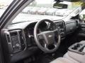 2014 Blue Granite Metallic Chevrolet Silverado 1500 WT Double Cab 4x4  photo #14