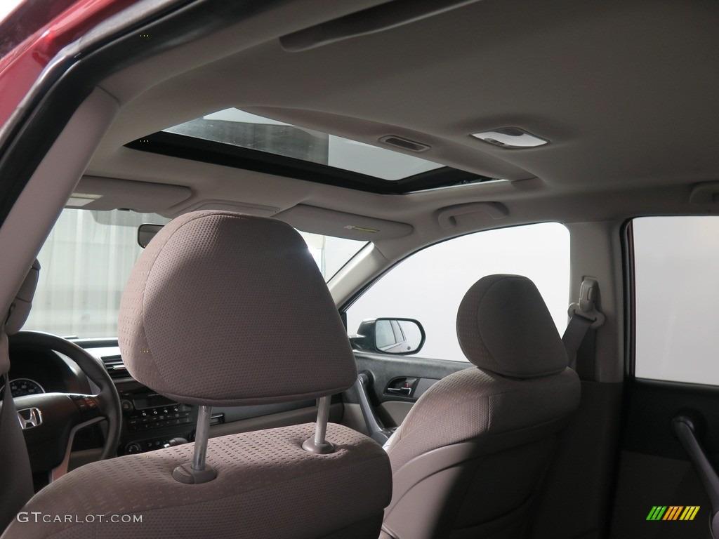 2008 CR-V EX 4WD - Tango Red Pearl / Black photo #3