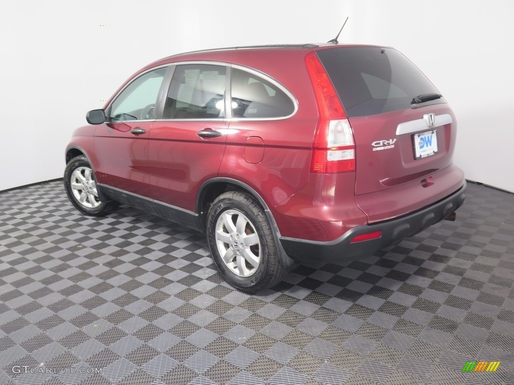 2008 CR-V EX 4WD - Tango Red Pearl / Black photo #7