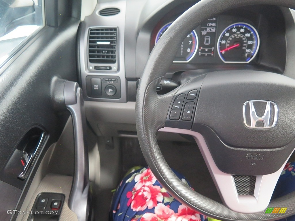 2008 CR-V EX 4WD - Tango Red Pearl / Black photo #12