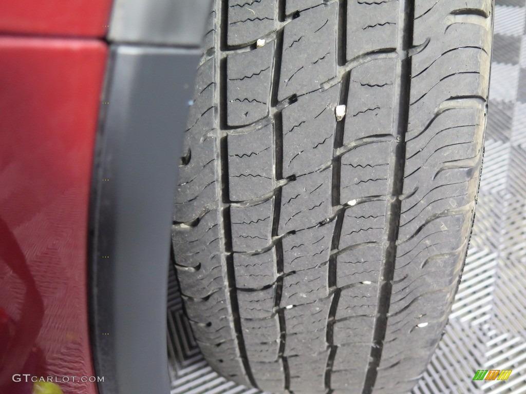 2008 CR-V EX 4WD - Tango Red Pearl / Black photo #20