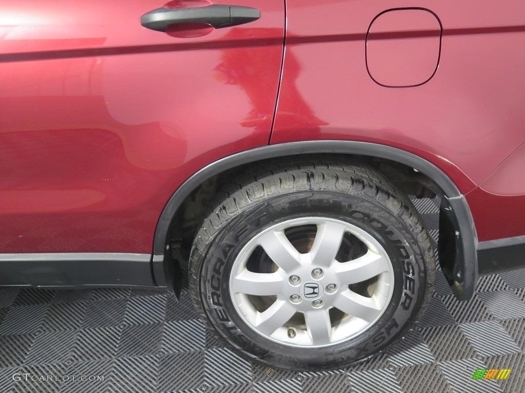 2008 CR-V EX 4WD - Tango Red Pearl / Black photo #22