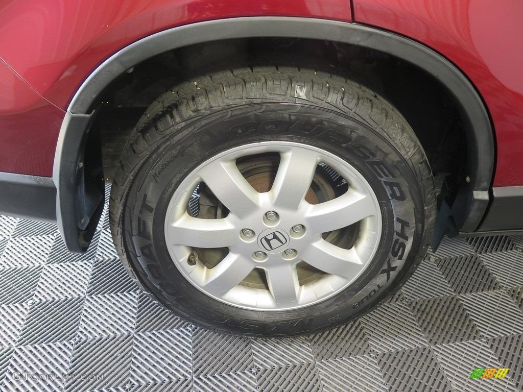 2008 CR-V EX 4WD - Tango Red Pearl / Black photo #23