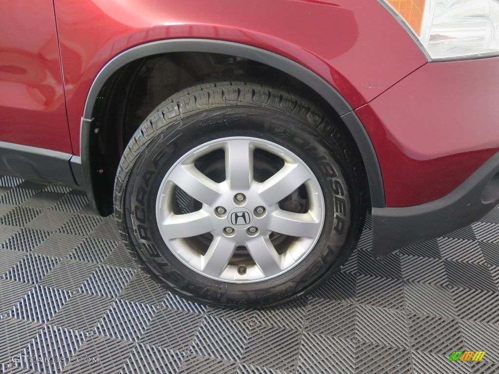 2008 CR-V EX 4WD - Tango Red Pearl / Black photo #24