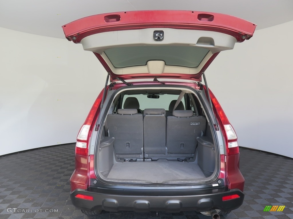 2008 CR-V EX 4WD - Tango Red Pearl / Black photo #26