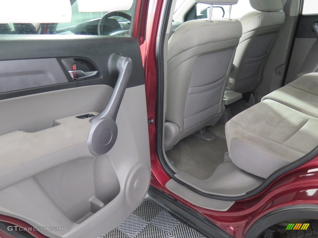 2008 CR-V EX 4WD - Tango Red Pearl / Black photo #29
