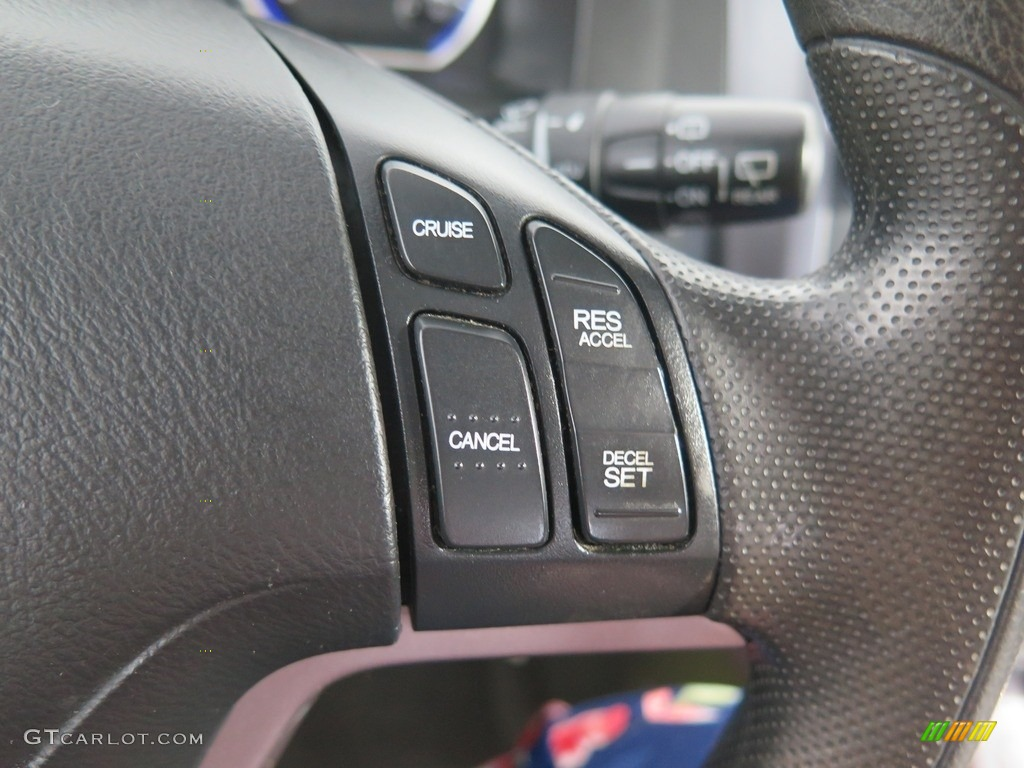 2008 CR-V EX 4WD - Tango Red Pearl / Black photo #34
