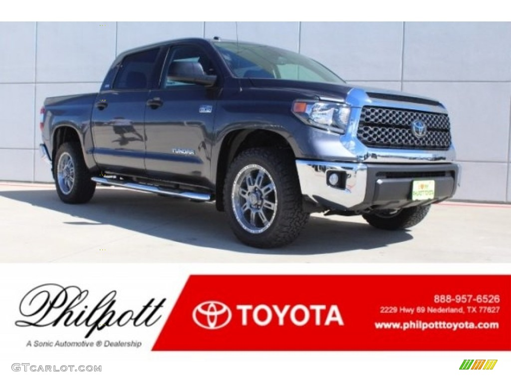 2019 Tundra TSS Off Road CrewMax 4x4 - Magnetic Gray Metallic / Graphite photo #1