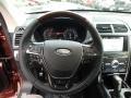 Medium Soft Ceramic Steering Wheel Photo for 2018 Ford Explorer #129267024