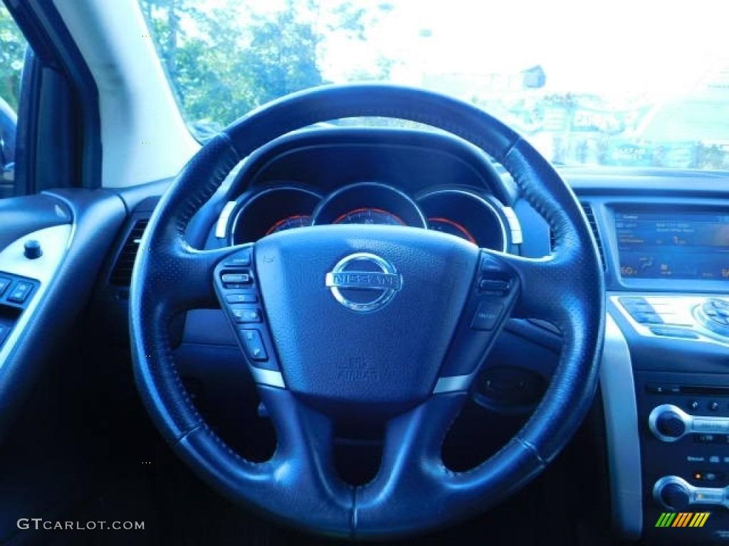 2009 Murano S AWD - Super Black / Black photo #7