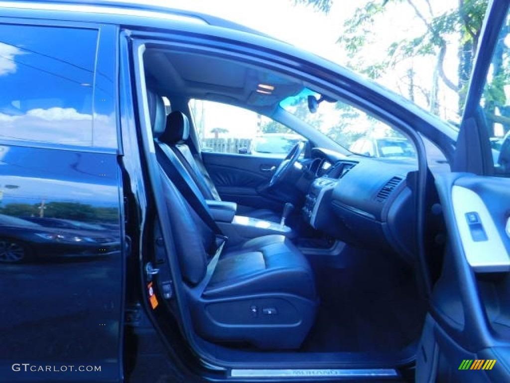 2009 Murano S AWD - Super Black / Black photo #19