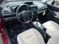 Ivory Interior Photo for 2019 Subaru Impreza #129278394
