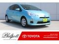 Blue Streak Metallic 2013 Toyota Prius c Hybrid Two