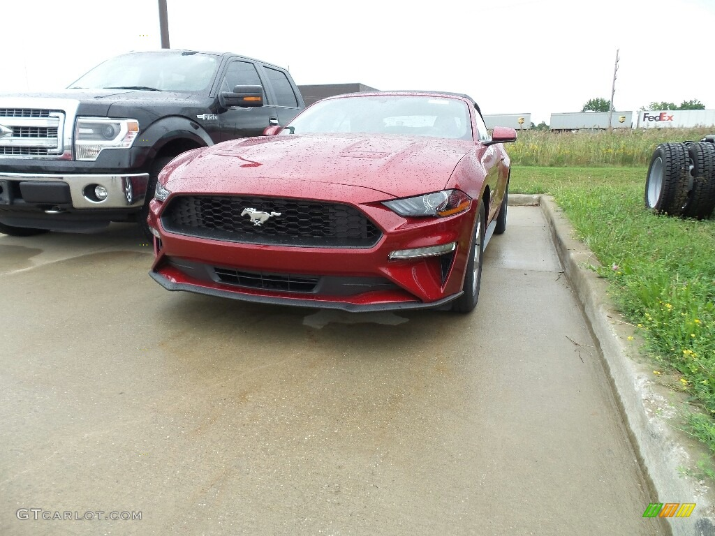 Ruby Red Ford Mustang