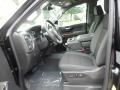 Jet Black Interior Photo for 2019 Chevrolet Silverado 1500 #129337630
