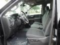 Jet Black Front Seat Photo for 2019 Chevrolet Silverado 1500 #129337684
