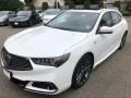 Bellanova White Pearl 2018 Acura TLX V6 A-Spec Sedan Exterior
