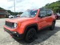 2018 Omaha Orange Jeep Renegade Trailhawk 4x4  photo #1