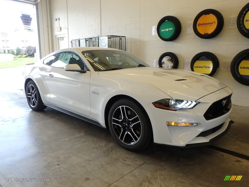 2019 Mustang GT Fastback - Oxford White / Ebony photo #1