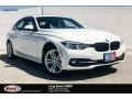 Alpine White 2018 BMW 3 Series 330i Sedan