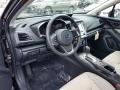 Ivory Interior Photo for 2019 Subaru Impreza #129427905